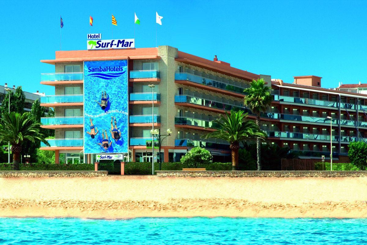 Lloret de Mar - Surf Mar **** - JIŘINA DUBNOVÁ - CA DUBI tour