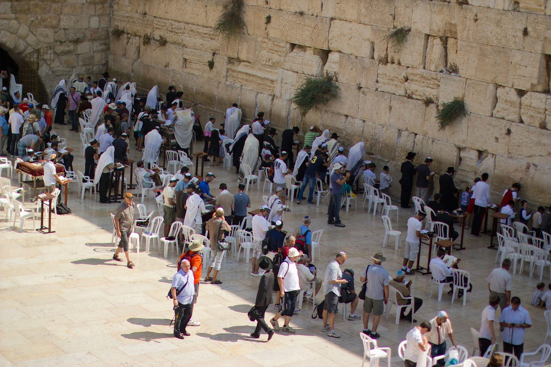 jerusalem zeď nářků