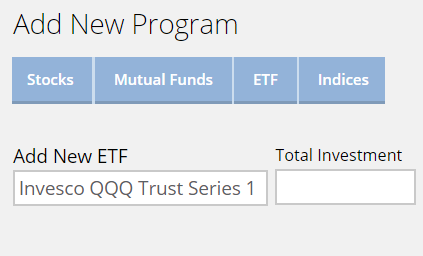 Add ETFs to Your Portfolio in a Few Clicks