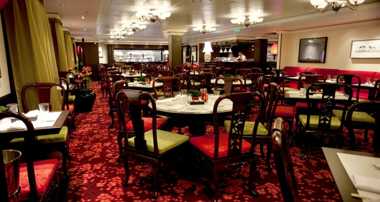 07 Norwegian Epic   Restaurace